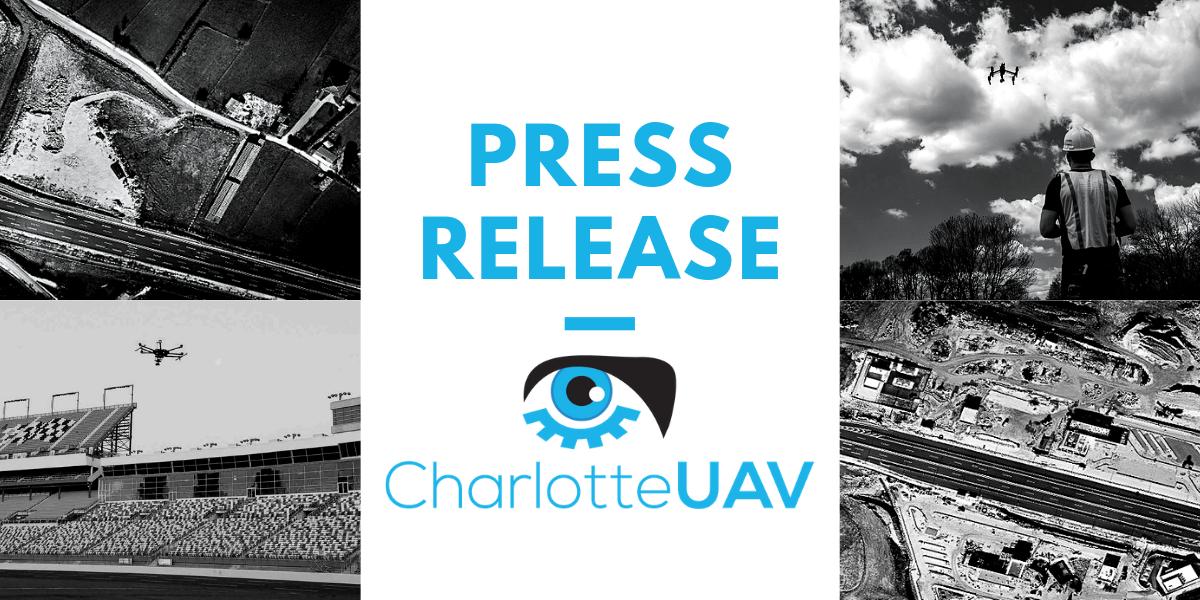 press release for charlotte uav